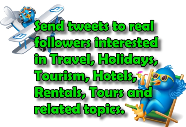 twitter travel promotion